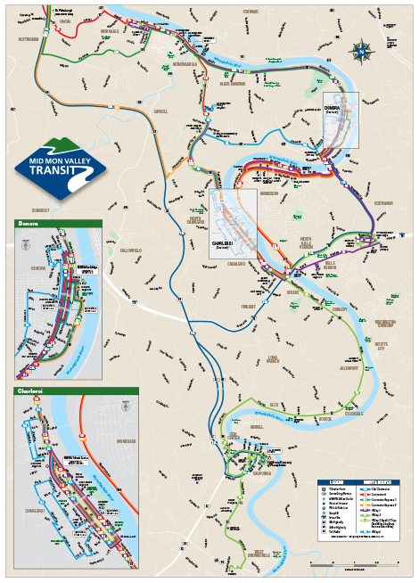 Maps Schedules Mid Mon Valley Transit